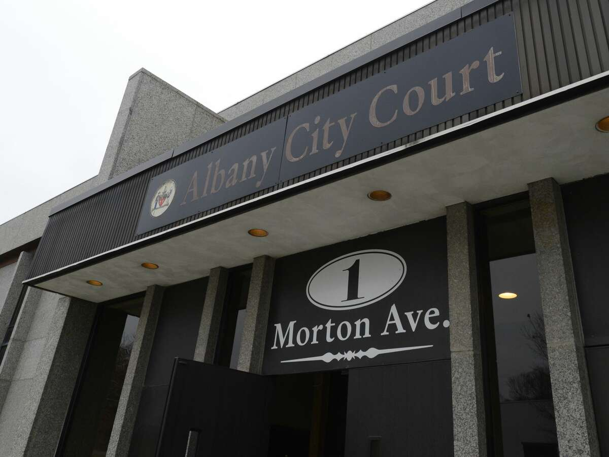 The City Court entrance of 1 Morton Avenue in Albany, N.Y. Nov 30, 2012. (Skip Dickstein/Times Union)