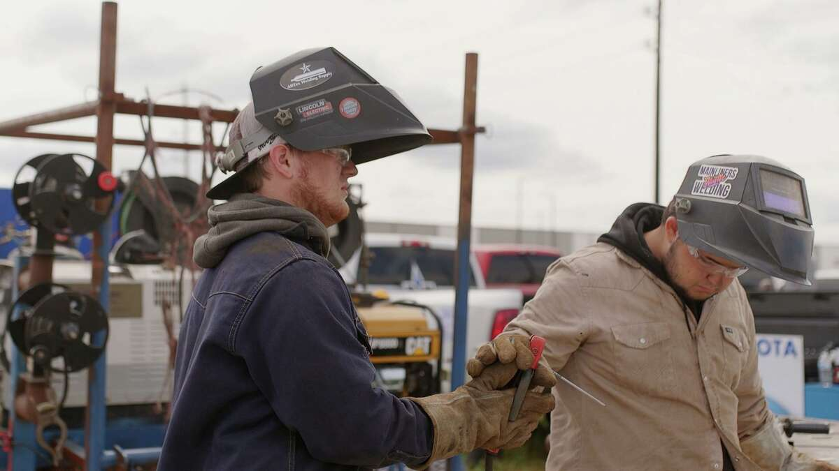 Northern Tool + Equipment in Humble held the Texas High School Welding Series on Saturday, April 17.