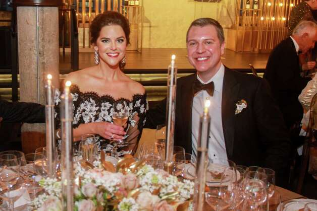 Ann and Jonathan Ayre at the Houston Symphony Wine Auction and Collector's Dinner on April 23, 2021. Photo: Gary Fountain, Contributor / Copyright 2021 Gary Fountain