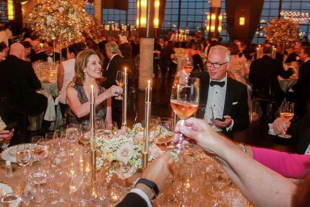 Phoebe and Bobby Tudor at the Houston Symphony Wine Auction and Collector's Dinner on April 23, 2021. Photo: Gary Fountain, Contributor / Copyright 2021 Gary Fountain