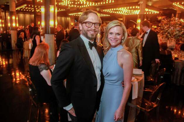 Eric Lindsay and Lisa Rydman at the Houston Symphony Wine Auction and Collector's Dinner on April 23, 2021. Photo: Gary Fountain, Contributor / Copyright 2021 Gary Fountain