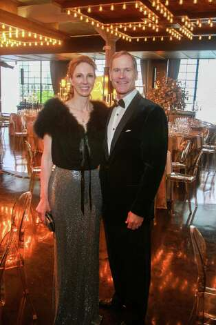 Kimberly and James Bell at the Houston Symphony Wine Auction and Collector's Dinner on April 23, 2021. Photo: Gary Fountain, Contributor / Copyright 2021 Gary Fountain