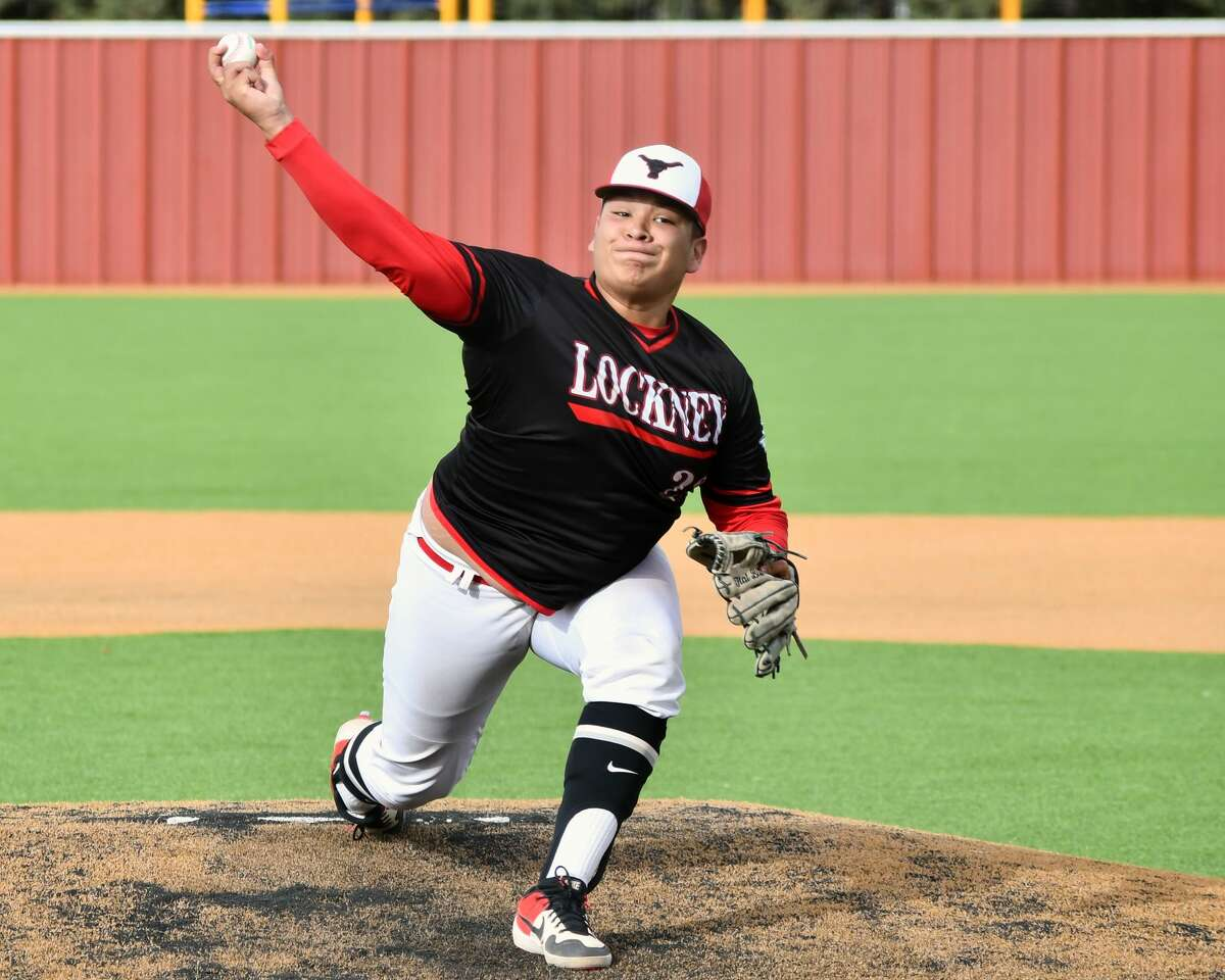 Lockney hosted Olton in a District 3-2A baseball game Friday at Lockney. The Longhorns rolled to a 15-0 victory over the Mustangs.