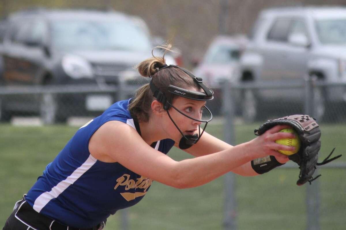 Onekama hosts Ludington for a softball doubleheader on April 24.