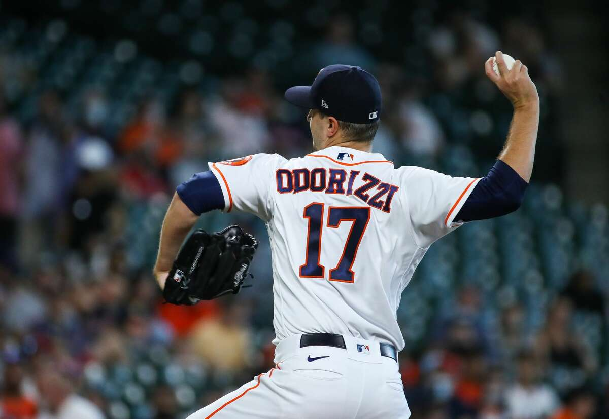 Jake Odorizzi has been sidelined since being hurt during his April 24 start.