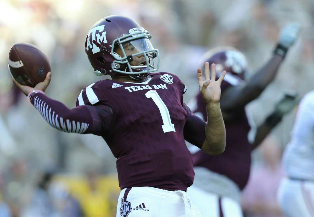 Before he was an Oklahoma Sooner and first-round NFL pick, Kyler Murray was an Aggie but transferring worked for him.