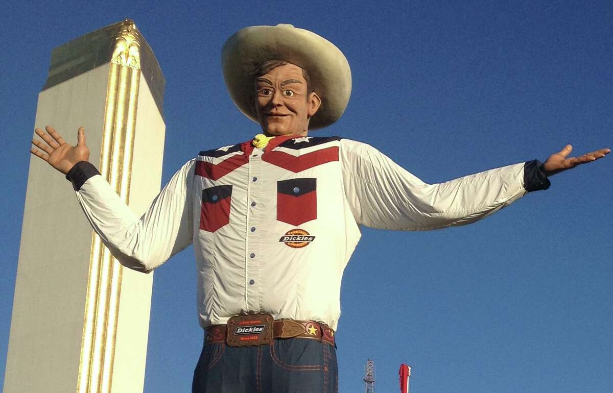 If Big Tex ever blows down, maybe the State Fair of Texas could call on Big Dan Rodimer as a replacement.