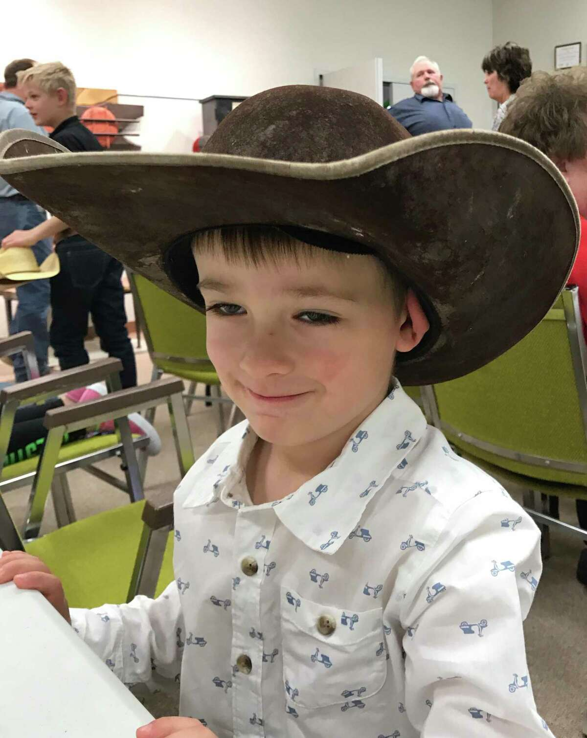 Three-years-old back in 2017, Kelton Graves of Lipscomb was already a Texas cowboy.