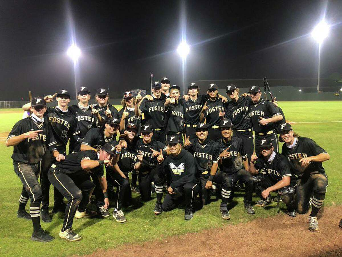 The Foster baseball team clinched the District 24-5A championship with a 13-7 victory against Angleton, improving to 14-1 in league play.