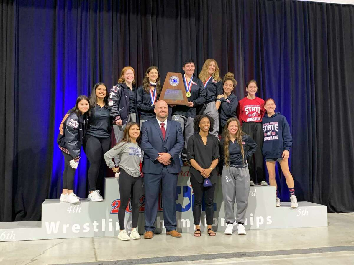 The Tompkins girls wrestling team followed its Region III-6A championship with a second consecutive runner-up finish at the Class 6A state championships April 24 at the Berry Center.