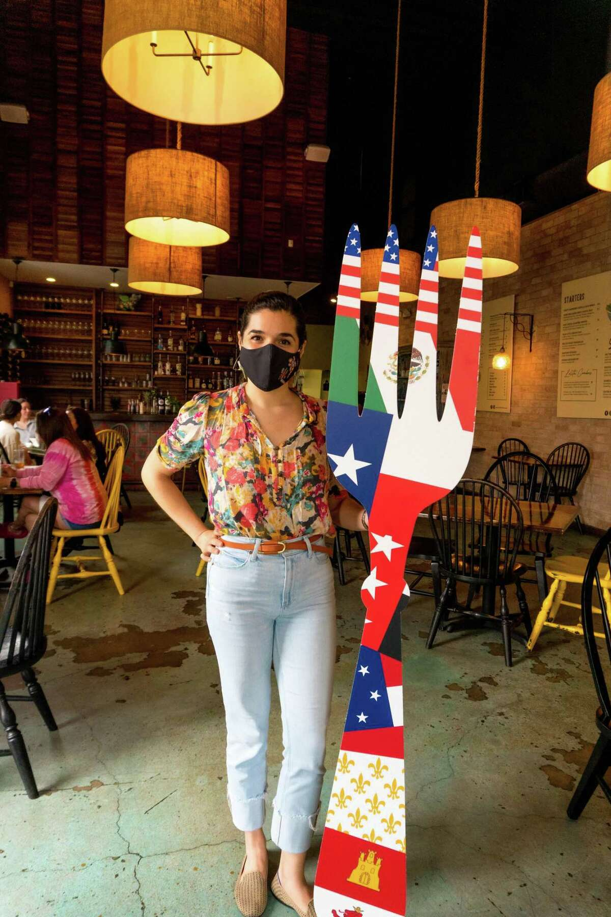 """Chef Maita Fernandez and Lolitas Bistro are one of 12 restuarants participating in the """"Dining Under Seven Flags"""" Restaurant Week."""