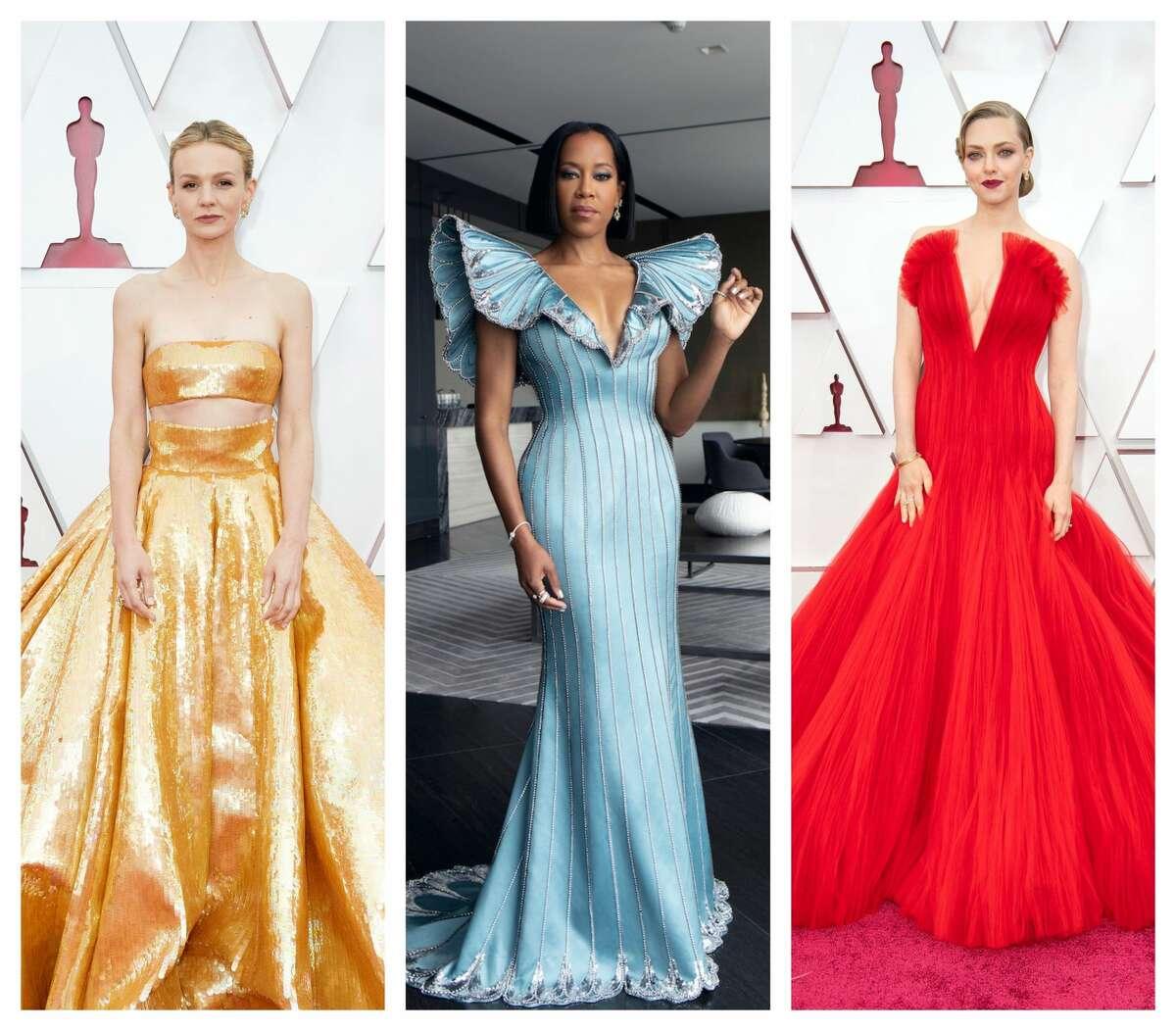 Oscar fashion: Carey Mulligan, Regina King and Amanda Seyfried