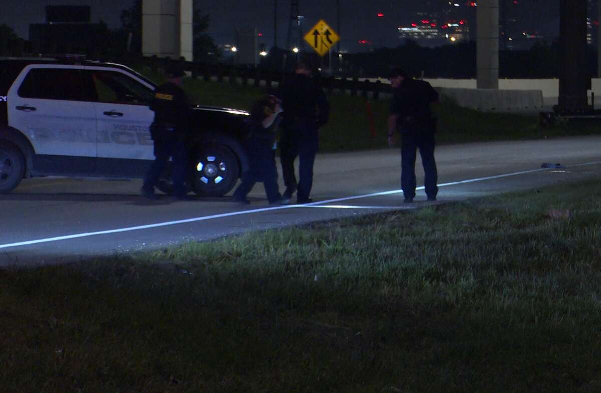 A man was hit by a car and killed April 25, 2021, on the onramp to State Highway 288, near Almeda Genoa Road.