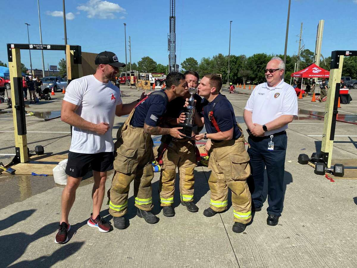 The Humble Fire Rescue team are the winners of the 2021 North Harris Firefighter Challenge, hosted by the Spring Fire Department.