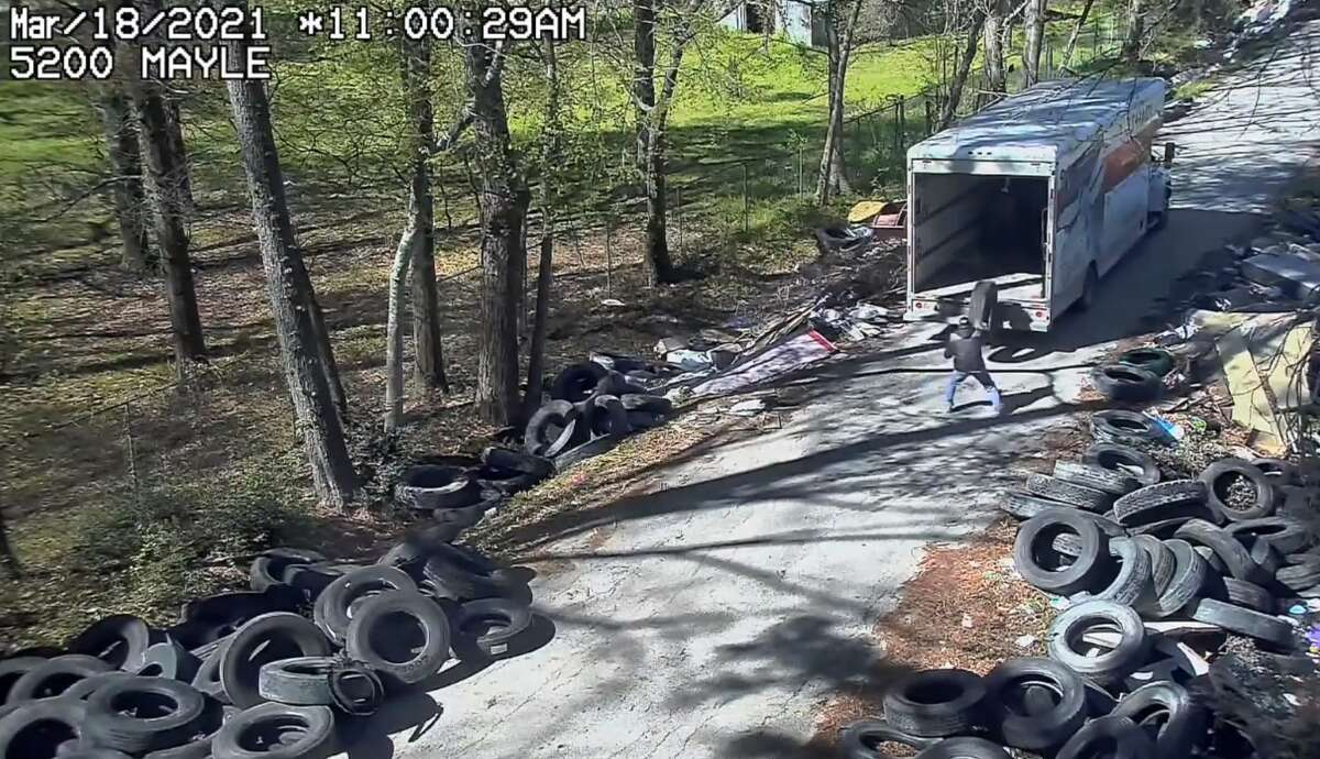 Harris County Pct. 1 Environmental Crimes Division on April 26 arrested a man who has previously orchestrated the illegal dumping of thousands of used tires across the Houston area. Darrell Wayne Watson is now charged with dumping nearly 200 big rig tires in Houston in February and March 2020.