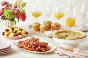 A takeout brunch package from The Fresh Market, with locations in Avon, Guilford and Westport