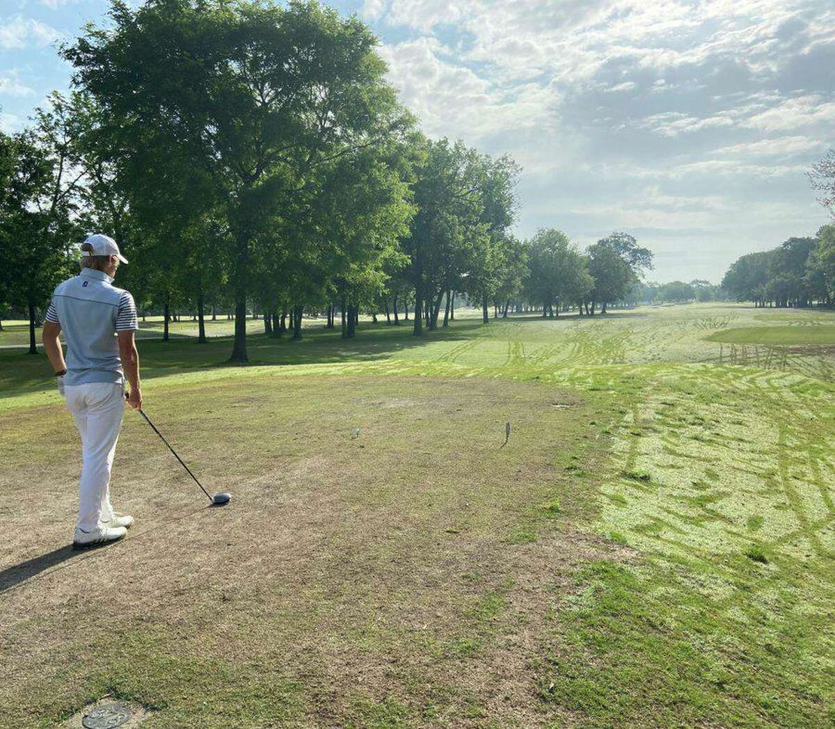 Tompkins junior Colt Tenpenny won the Region III-6A championship April 21-22 at Gleannloch Pines Golf Club, qualifying for the Class 6A state tournament while shooting the lowest scores in school history.