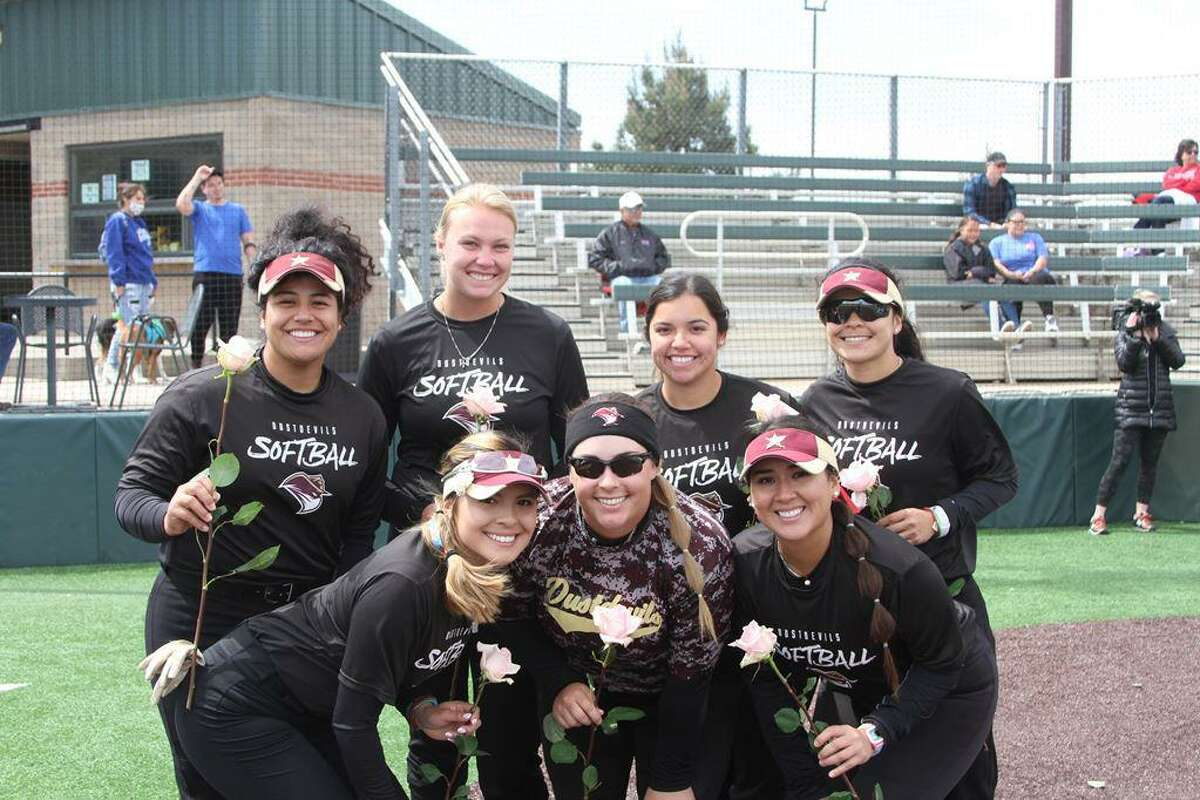 The Dustdevils celebrated seven seniors on Sunday as they swept their doubleheader against Midwestern State.