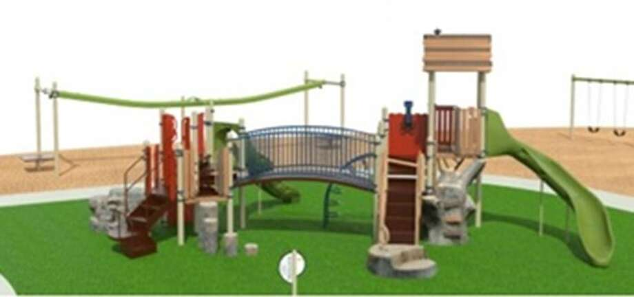The City of Midland released renderings of the nine playgrounds that are currently being renovated. Pictured above is Essex. Photo: City Of Midland