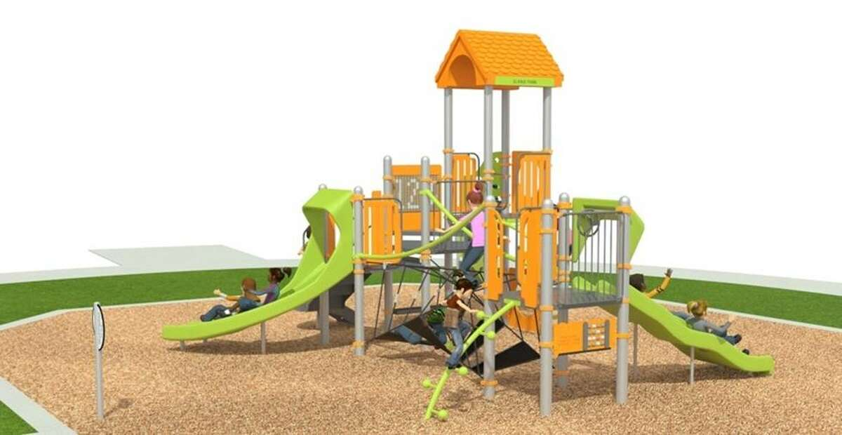 The City of Midland released renderings of the nine playgrounds that are currently being renovated. Pictured above is Elkins.