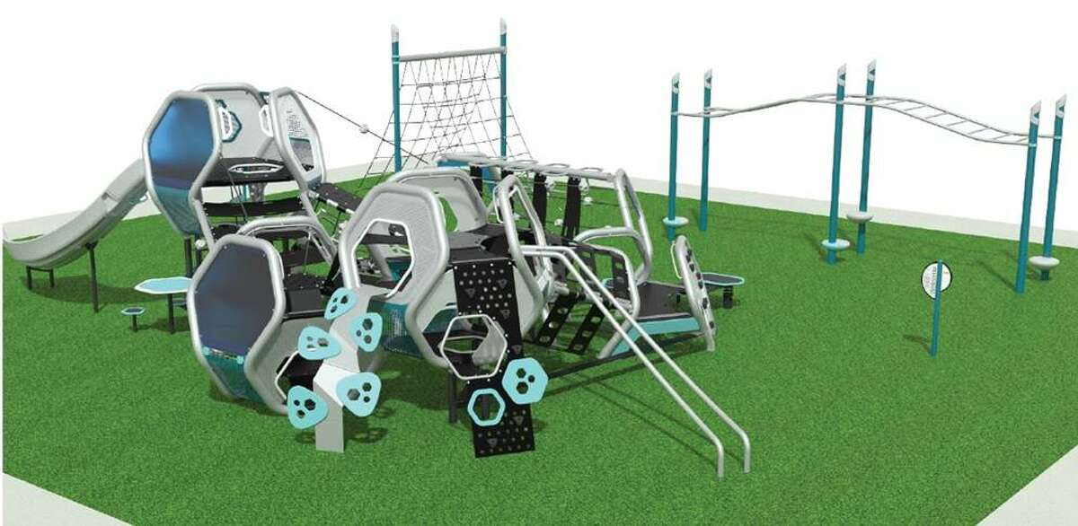 The City of Midland released renderings of the nine playgrounds that are currently being renovated. Pictured above is Reyes-Mashburn-Nelms.