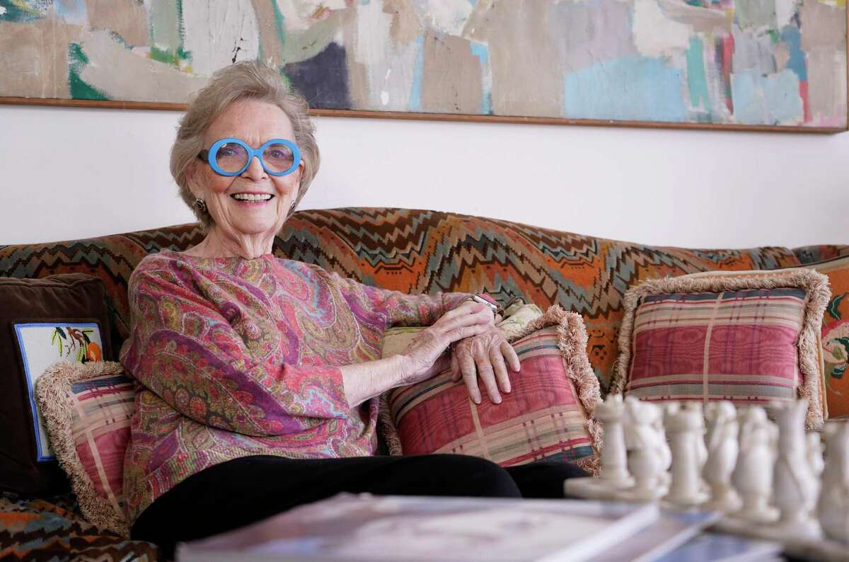 Peg Lee, the former director of Rice Epicurean cooking school and the cooking school at Central Market, is shown at her home in Houston. The 88-year-old Lee is being honored by the Recipe for Success Foundation at its Delicious Alchemy Banquet on May 3 at Hope Farms.