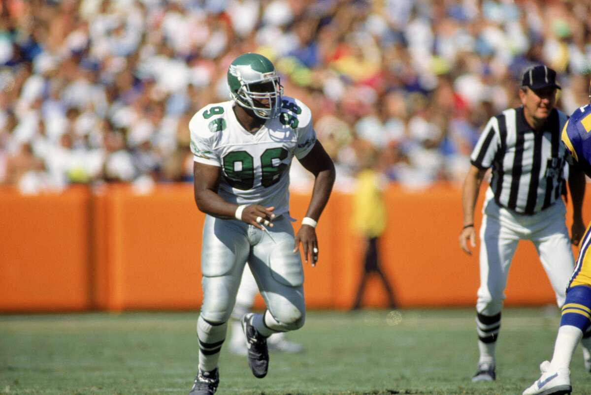 Clyde Simmons enjoyed a long, productive NFL career after the Eagles drafted him in the ninth round in 1986.