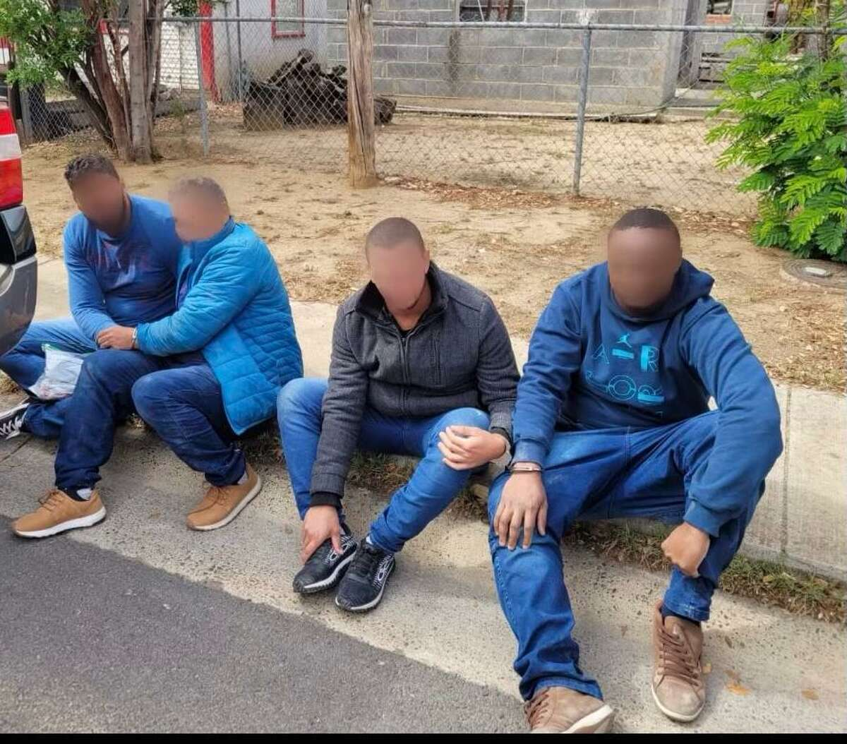 A man was allegedly transporting these four individuals. They were determined to be immigrants from Brazil who had crossed the border illegally.