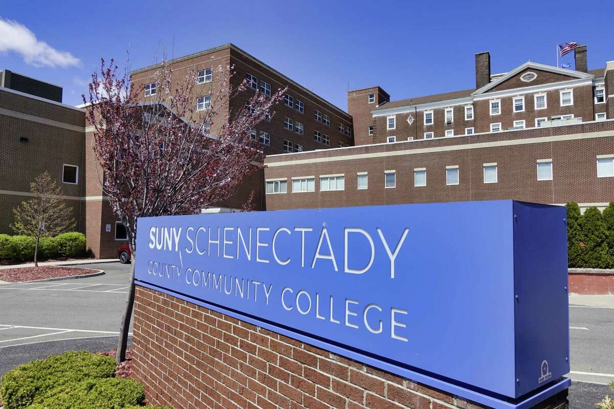 A view of the SUNY Schenectady college campus on Monday, April 26, 2021, in Schenectady, N.Y. (Paul Buckowski/Times Union)