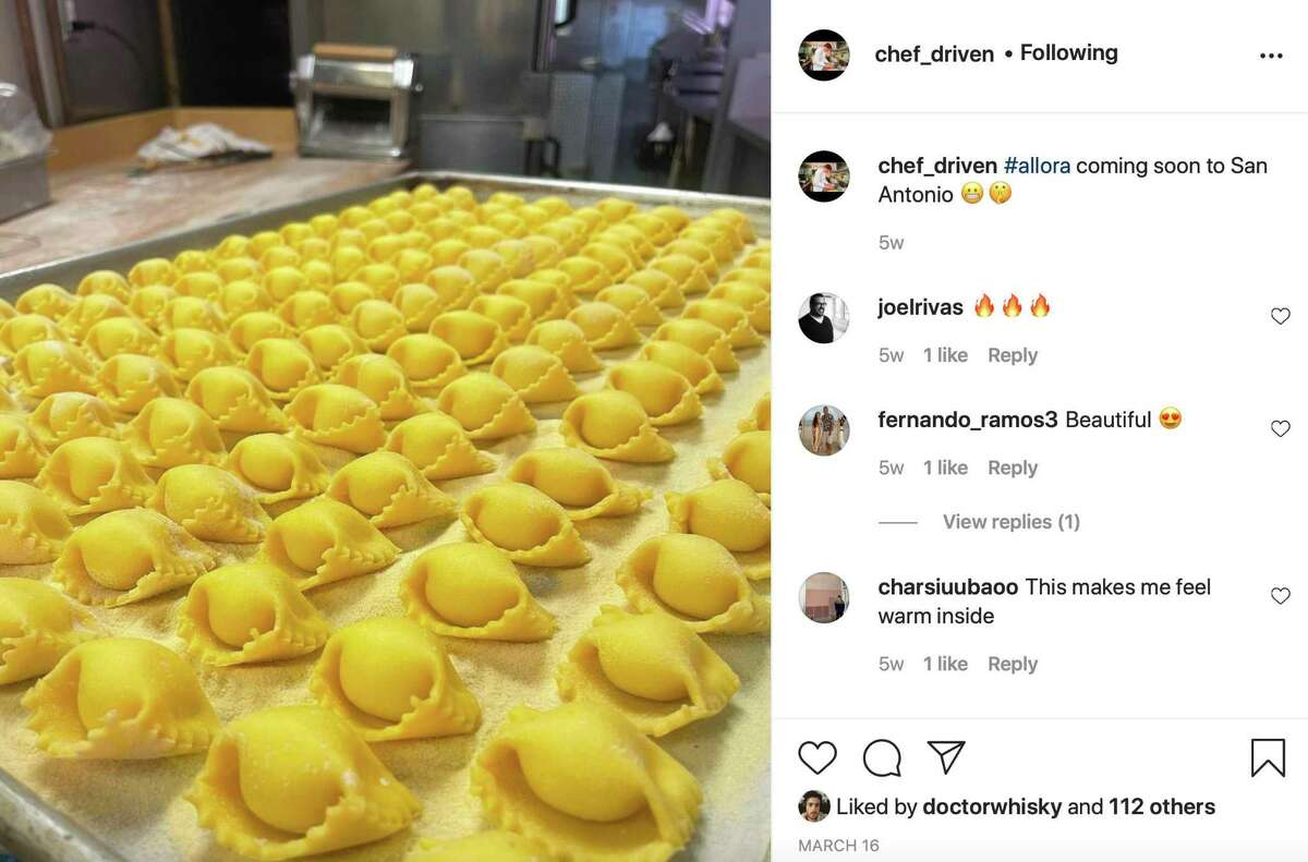 For weeks chef Robbie Nowlin has been sharing photos of pasta and pasta dishes on his Instagram page with the hashtag #allora.