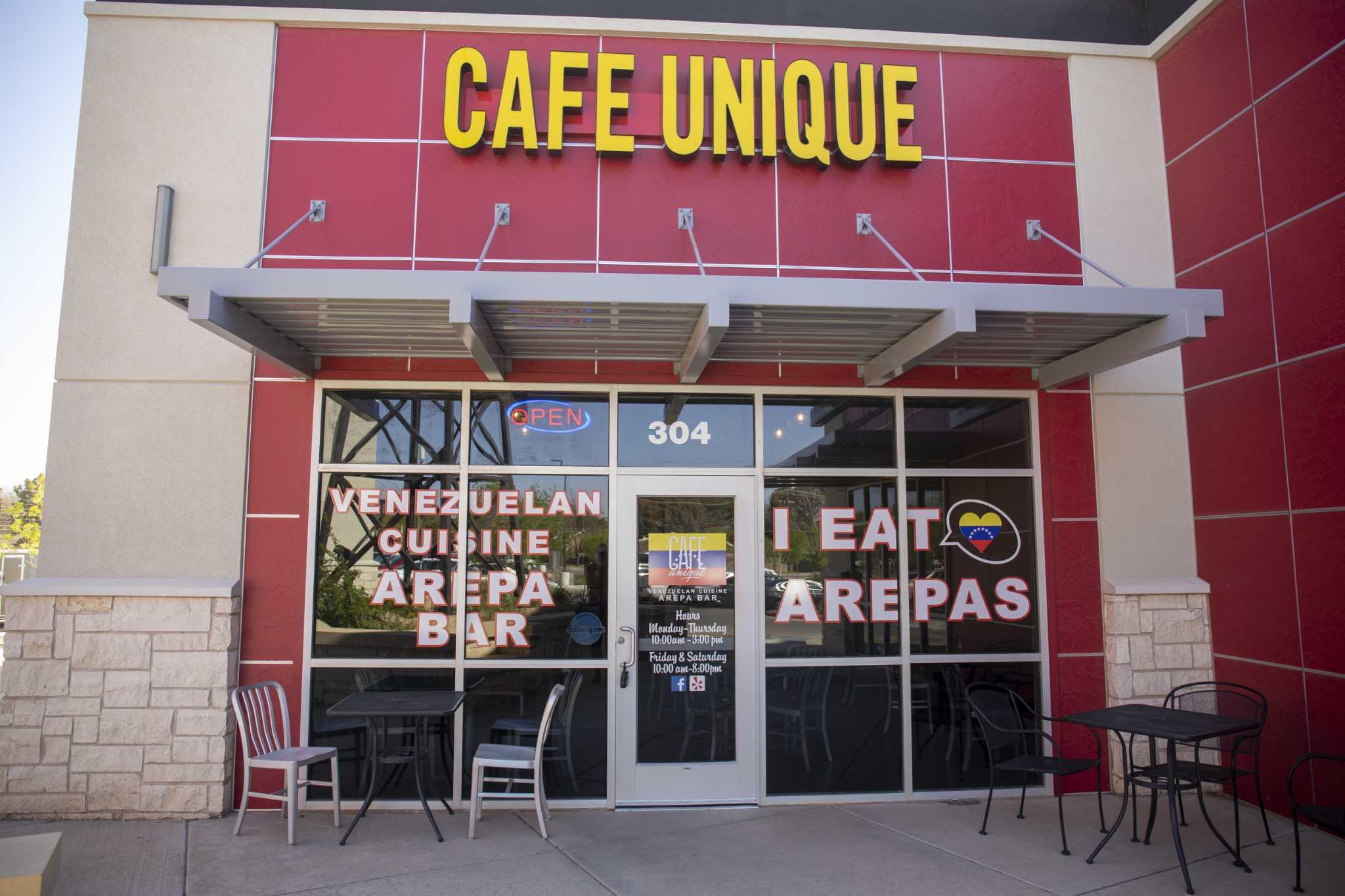Café Unique se mueve, sigue sirviendo platos venezolanos