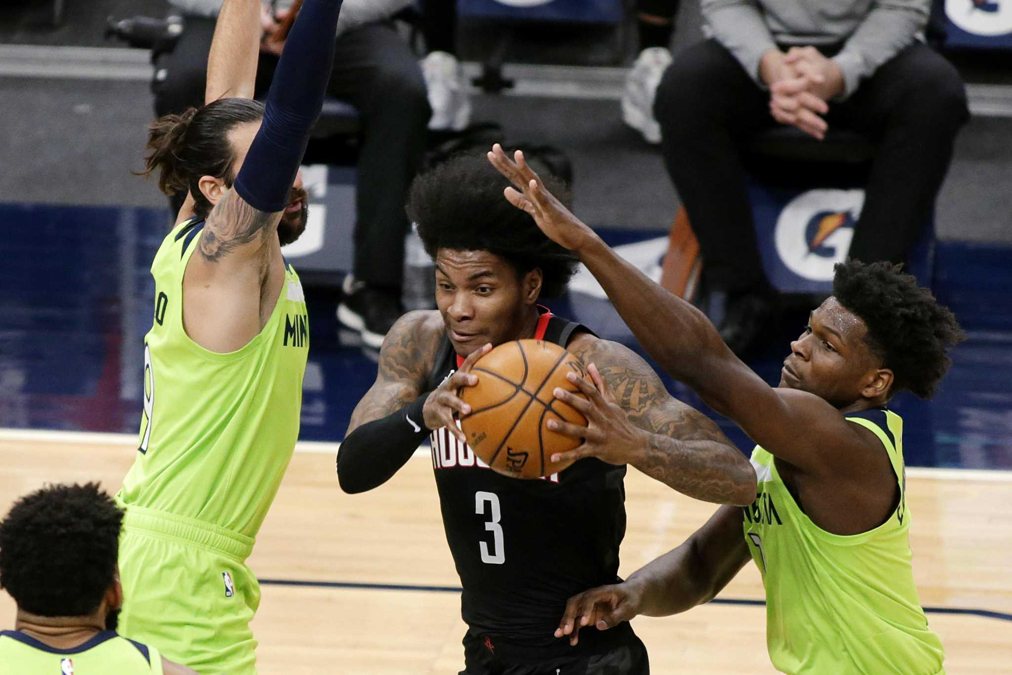 In Rockets-Timberwolves doubleheader, not even the lottery is on the line