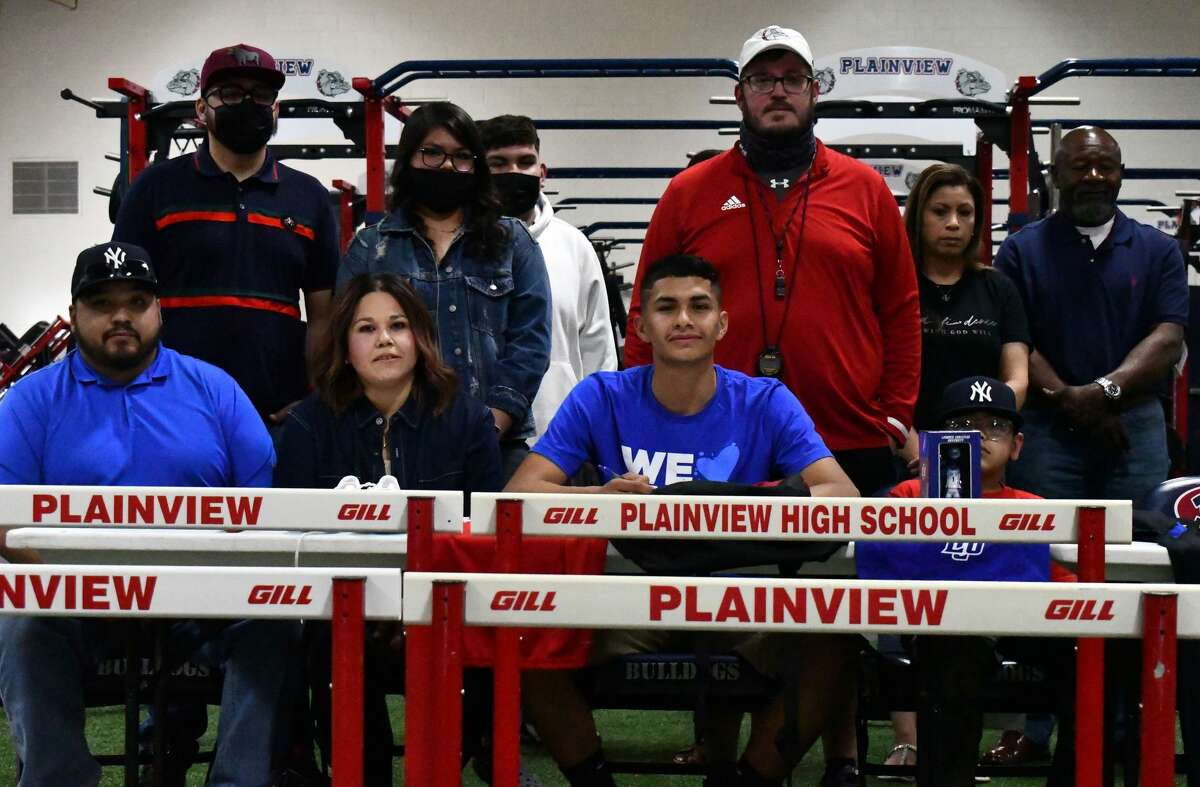 Aidan Heredia will compete in the hurdles for the Lubbock Christian track team.
