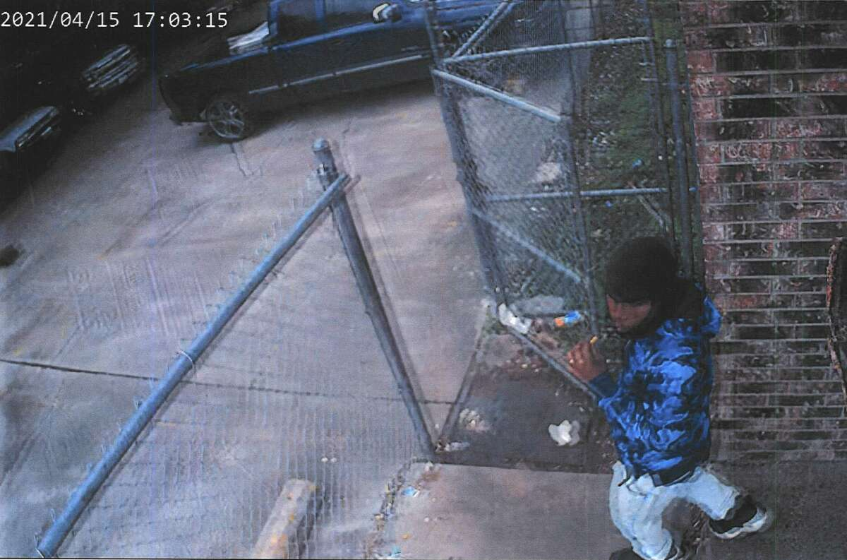 Richmond Police investigators released this photo of a suspect in the April 15, 2021, shooting of Carlos Medina.