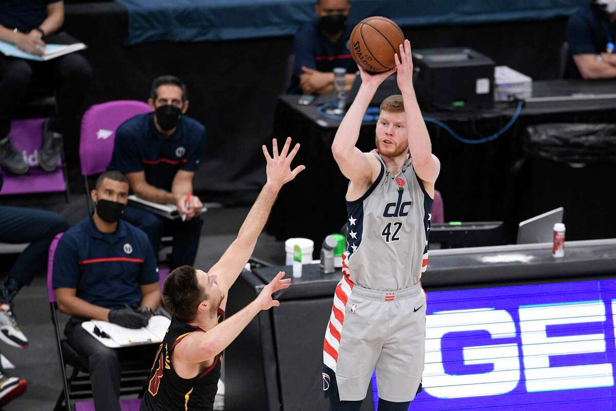 Coach Gregg Popovich had an enjoyable random encounter with former Spurs player Davis Bertans while entering Capital One Arena before Monday night's game with the Wizards in Washington.