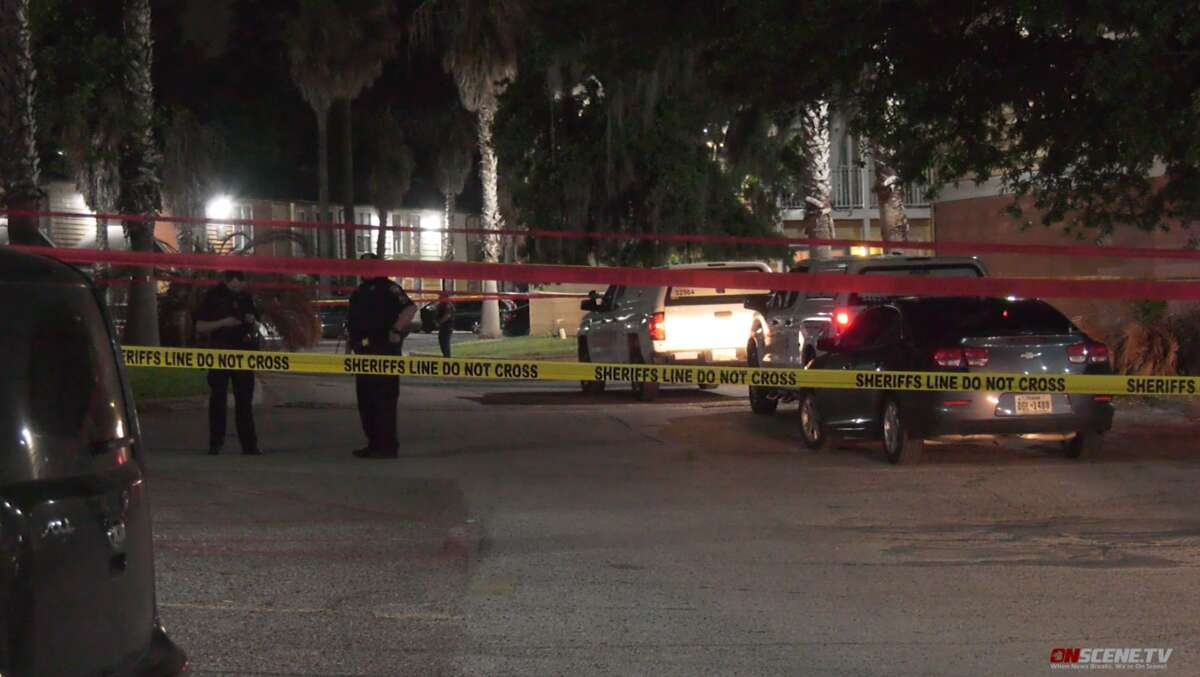Deputies responded to the 900 block of Cypress Station Monday night and found an adult man dead on the scene. A child, identified as a 3-year-old girl, was taken to a hospital by Life Flight in critical condition. Harris County Sheriff Ed Gonzalez said she was an innocent bystander.