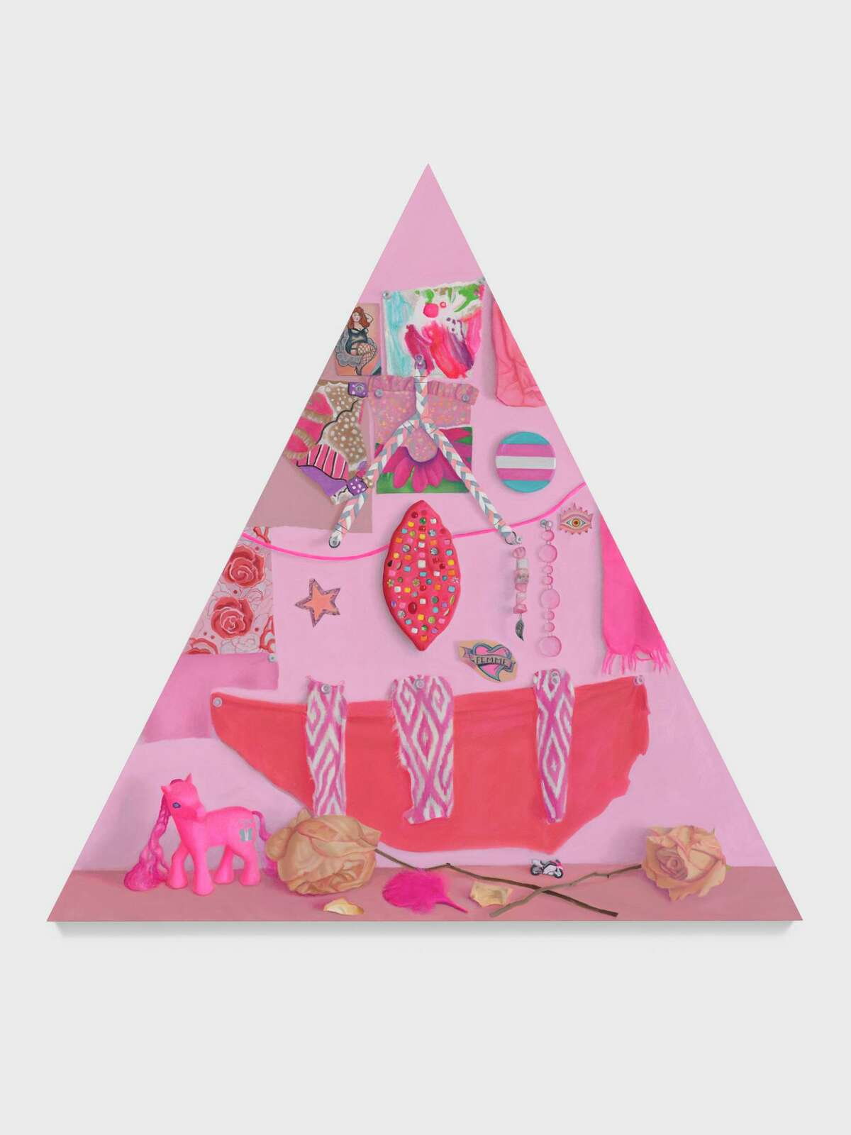 """""""Altar for Femme Joy"""" is on display at the Aldrich Contemporary Art Museum through Sept. 6."""