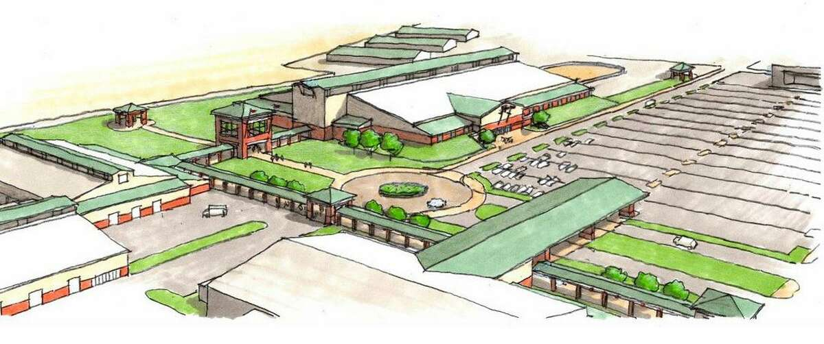A rendering of the Webb County Fairgrounds is depicted in the county's 2018 master plan of the project.