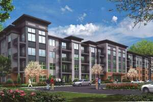 Renderings from the pre-application for 2 & 24 Pimpewaug Road, just off of U.S. Route 7