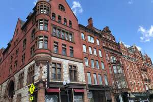 Exterior of the former Steuben Athletic Club and historic YMCA Building on North Pearl Street will be a new coworking space for not-for-profits run by United Way.