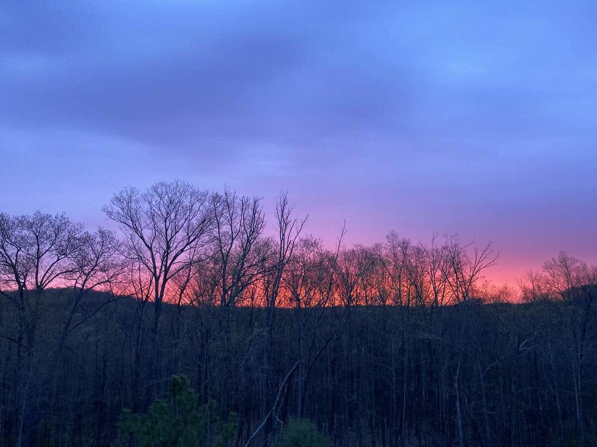 Sunrise in Connecticut on Apr. 27, 2021.