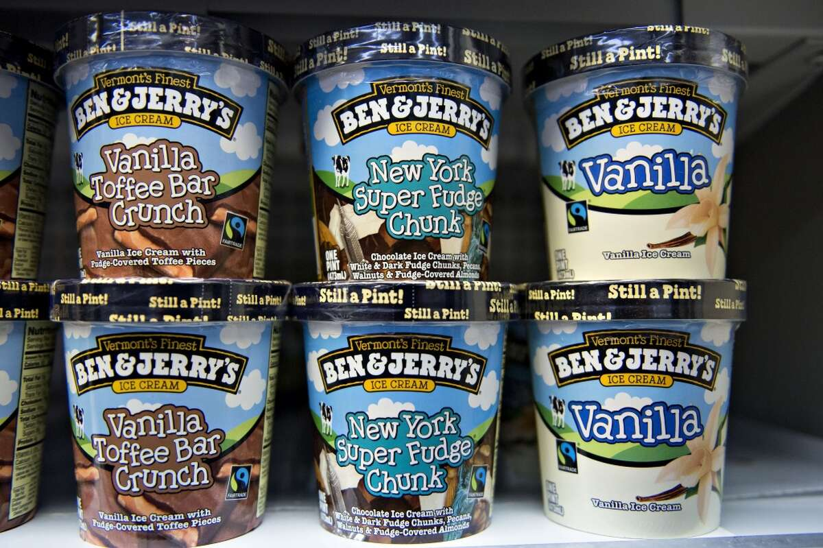 Ben and Jerry's is asking its Austin customers to vote no on Proposition B, a law that would make it a criminal offense to sit, lie down, camp or solicit money in or near downtown Austin and the University of Texas at Austin.