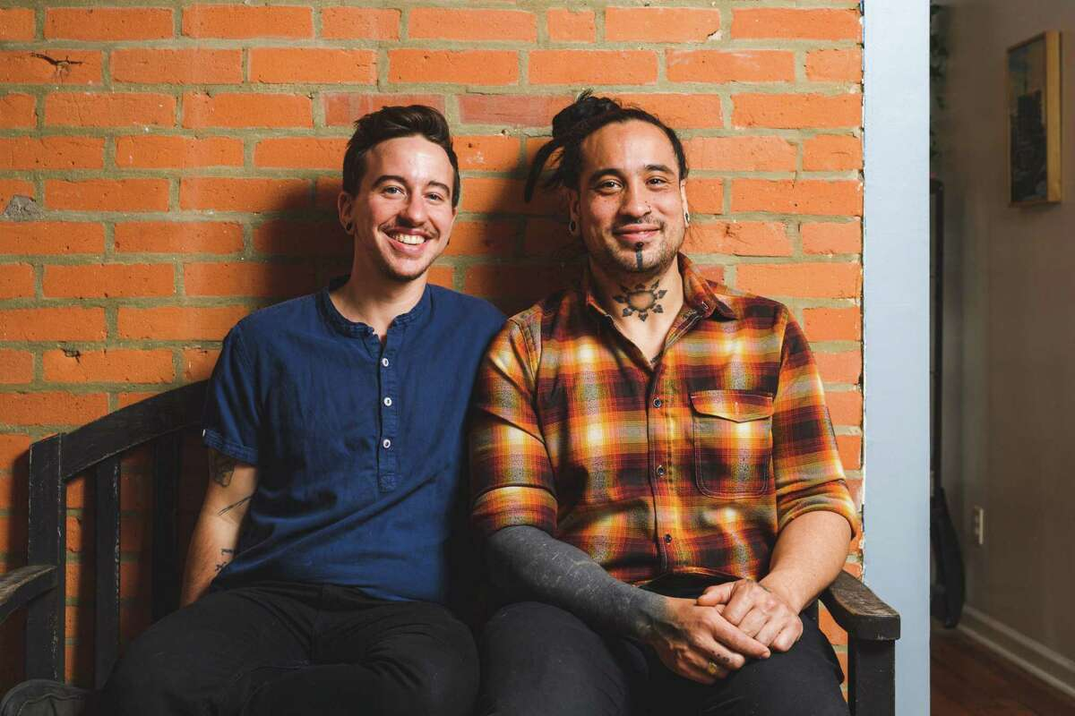 Seth Wallace, left, and Kevin McGuire, founders of Kawit!