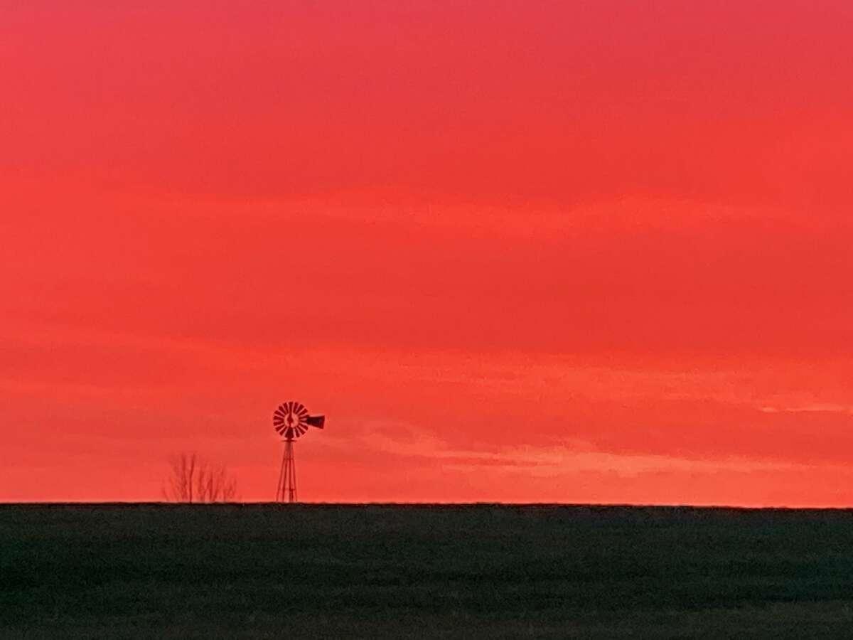Sunrise taken from Brookfield, CT on Apr. 27, 2021.