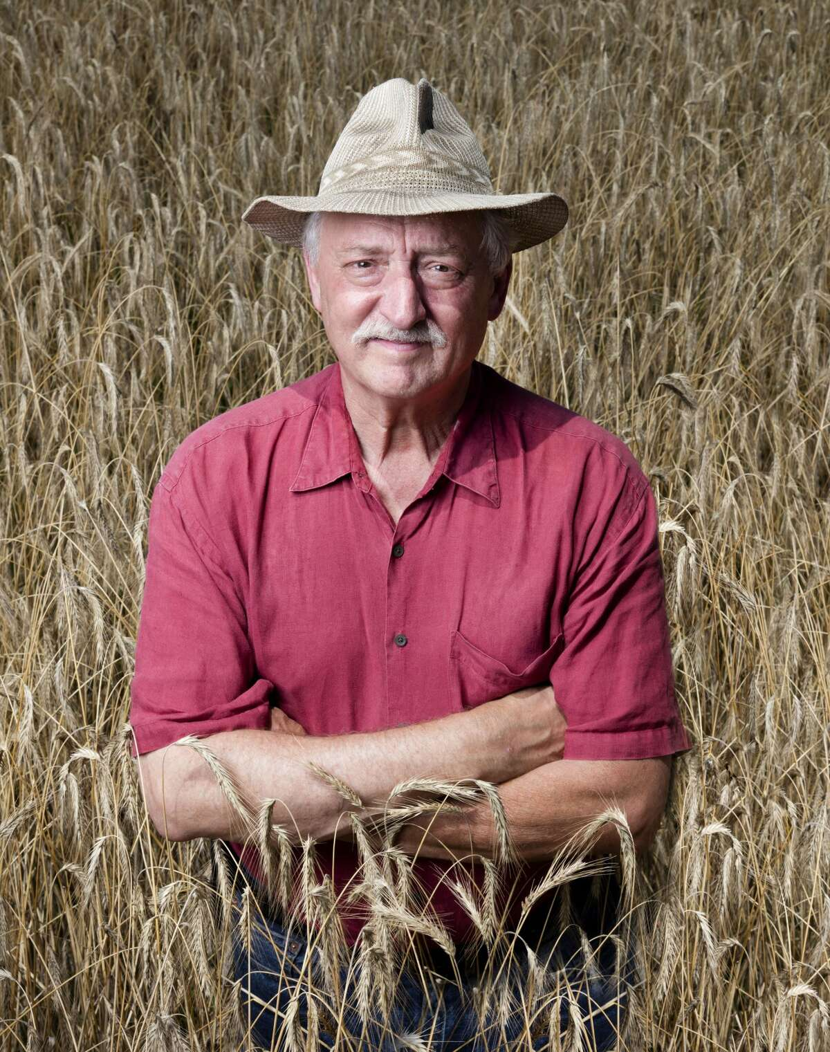 Don Lewis, founder of Wild Hive Farm and pictured above, saw the potential for producing and milling grains for human consumption, which switched his path in the food world from baking to milling full time.