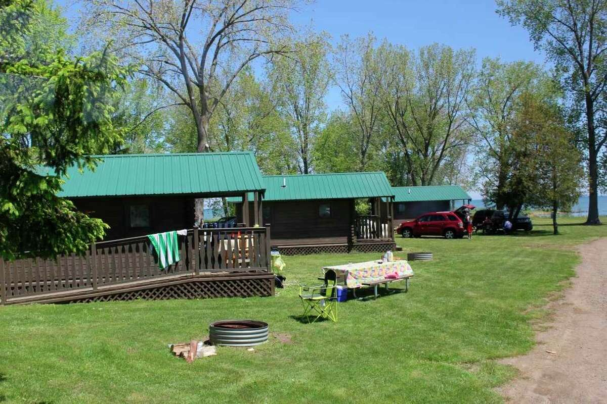 Some of the cabins at the Stafford County Park in Port Hope. (Tribune File Photo)