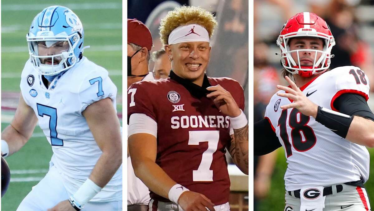 North Carolina's Sam Howell, Oklahoma's Spencer Rattler and Georgia's J.T. Daniels are some of the quarterbacks to look out for when thinking about the 2022 NFL Draft.