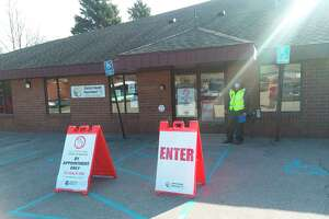Nearly 43%of eligible Manistee County residents are now vaccinated against COVID-19. (File photo)
