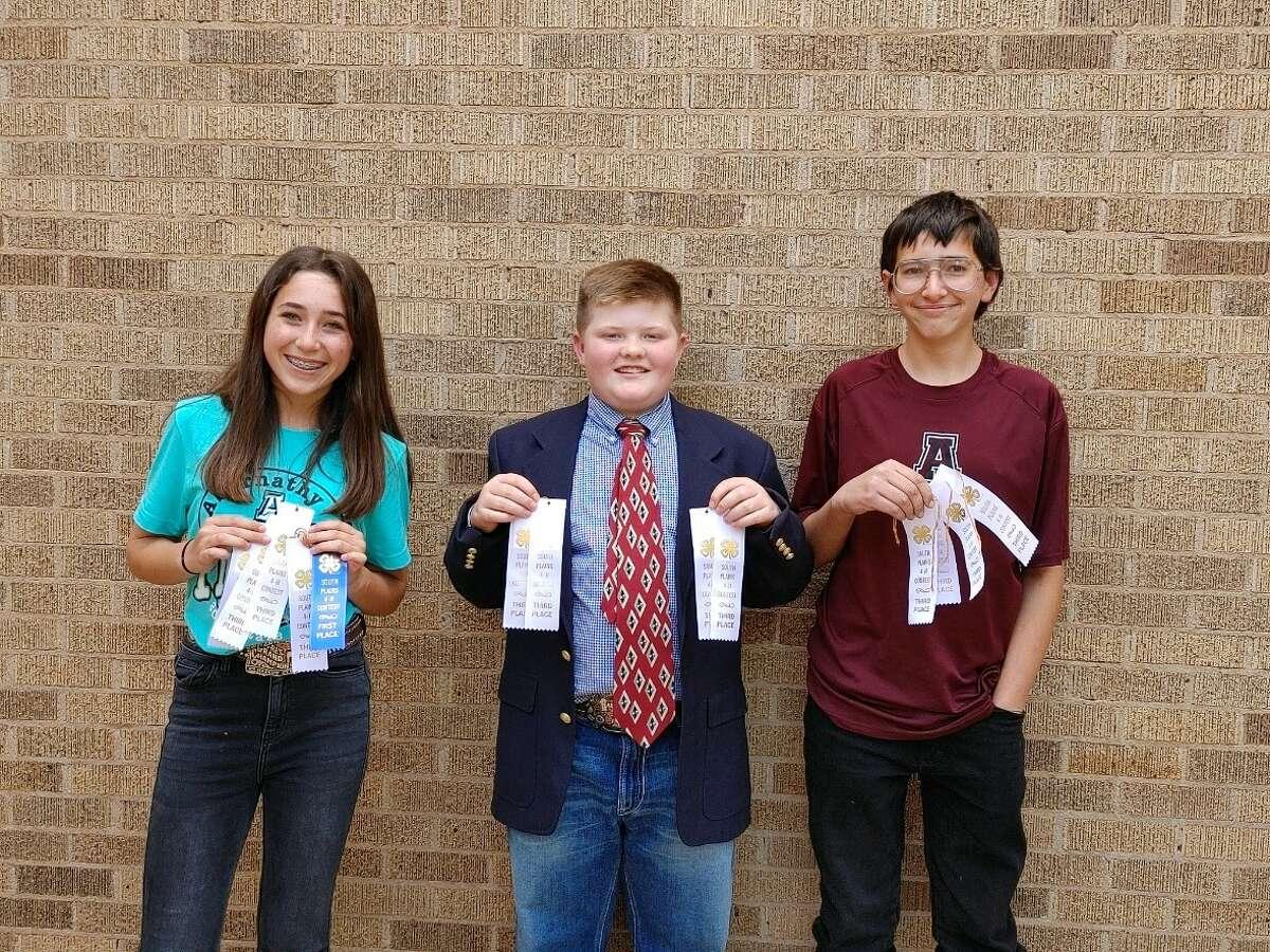Intermediate Team- Laine Mulcock, Mason Hart, and Ryder Rexrode