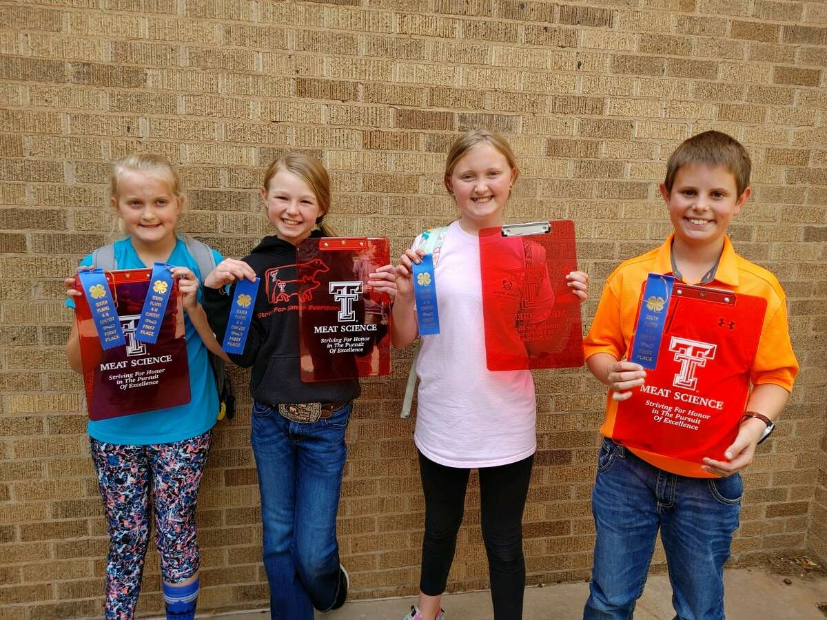 Junior Team 1- Ella Moore, Bryleigh Beyers, Daphnie Moore and Justus Curry